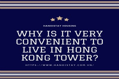 Why is it very convenient to live in Hong Kong Tower?