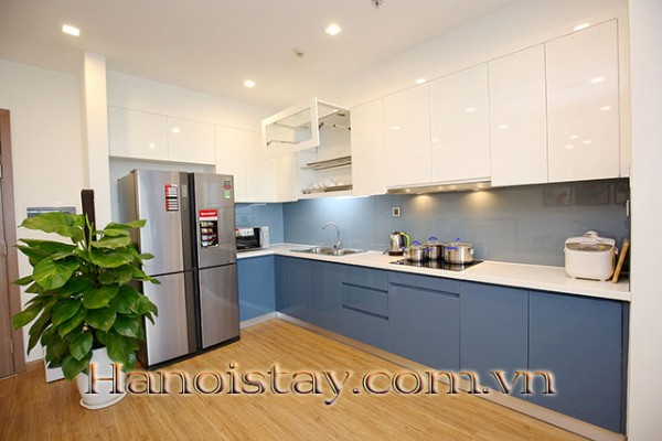 *Ideally New built Luxury Two Bedroom Apartment for rent in Vinhomes Metropolis* 13