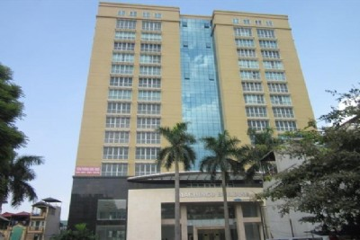 Hoang Hoa Tham street, Ba Dinh District - Machinco Office Building